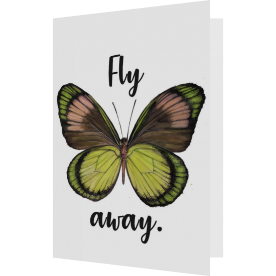 Felicitare: Fly away
