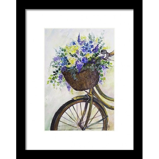 Tablou: Flower bicycle