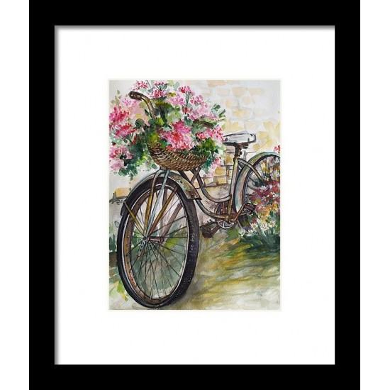 Tablou: Vintage bicycle. PRINT