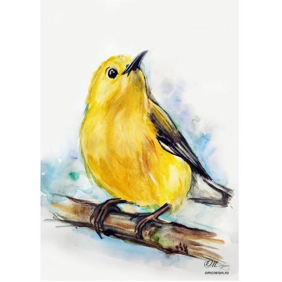 Felicitare: Birdy