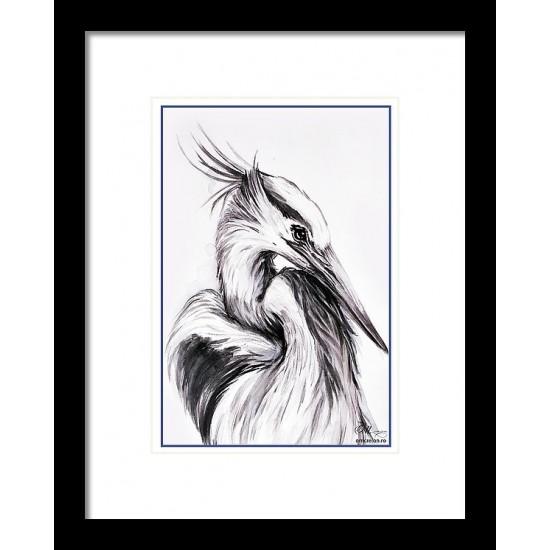Tablou: Egret PRINT
