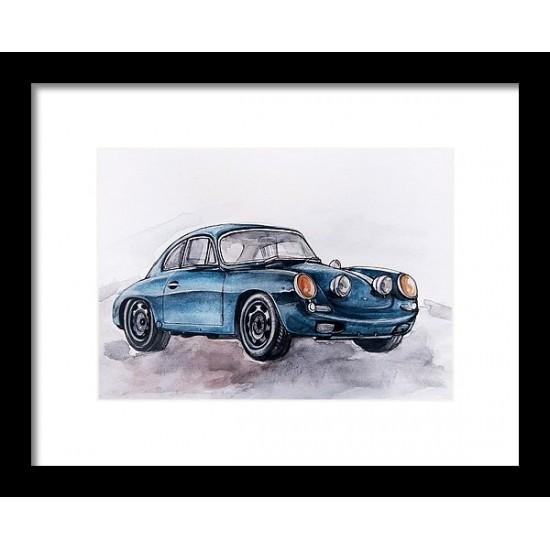 Tablou: Porsche 356