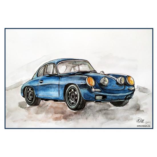 Magnet: Tablou: Porsche 356