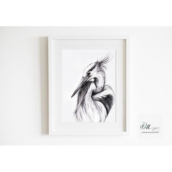 Tablou: Egret
