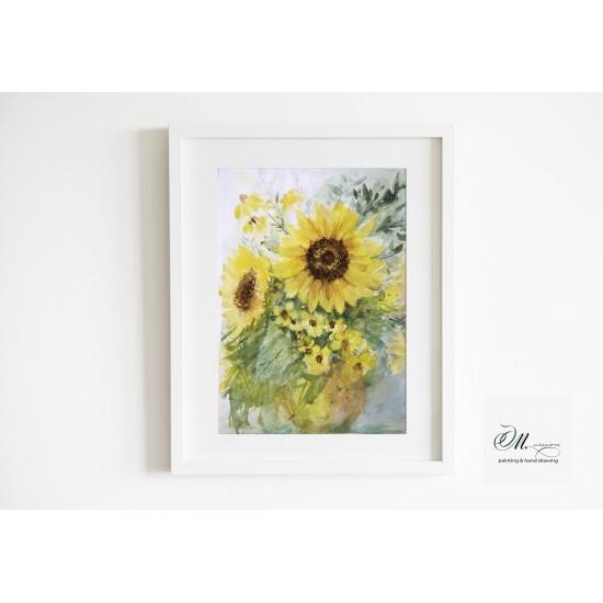 Tablou: Floarea soarelui