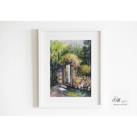 Tablou: Secret garden