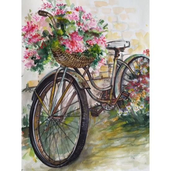 Tablou: Vintage bicycle.